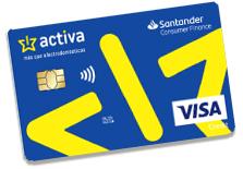 tarjeta VISA Activa
