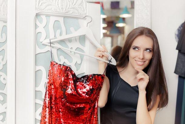 Consejos para planchar vestidos de fiesta