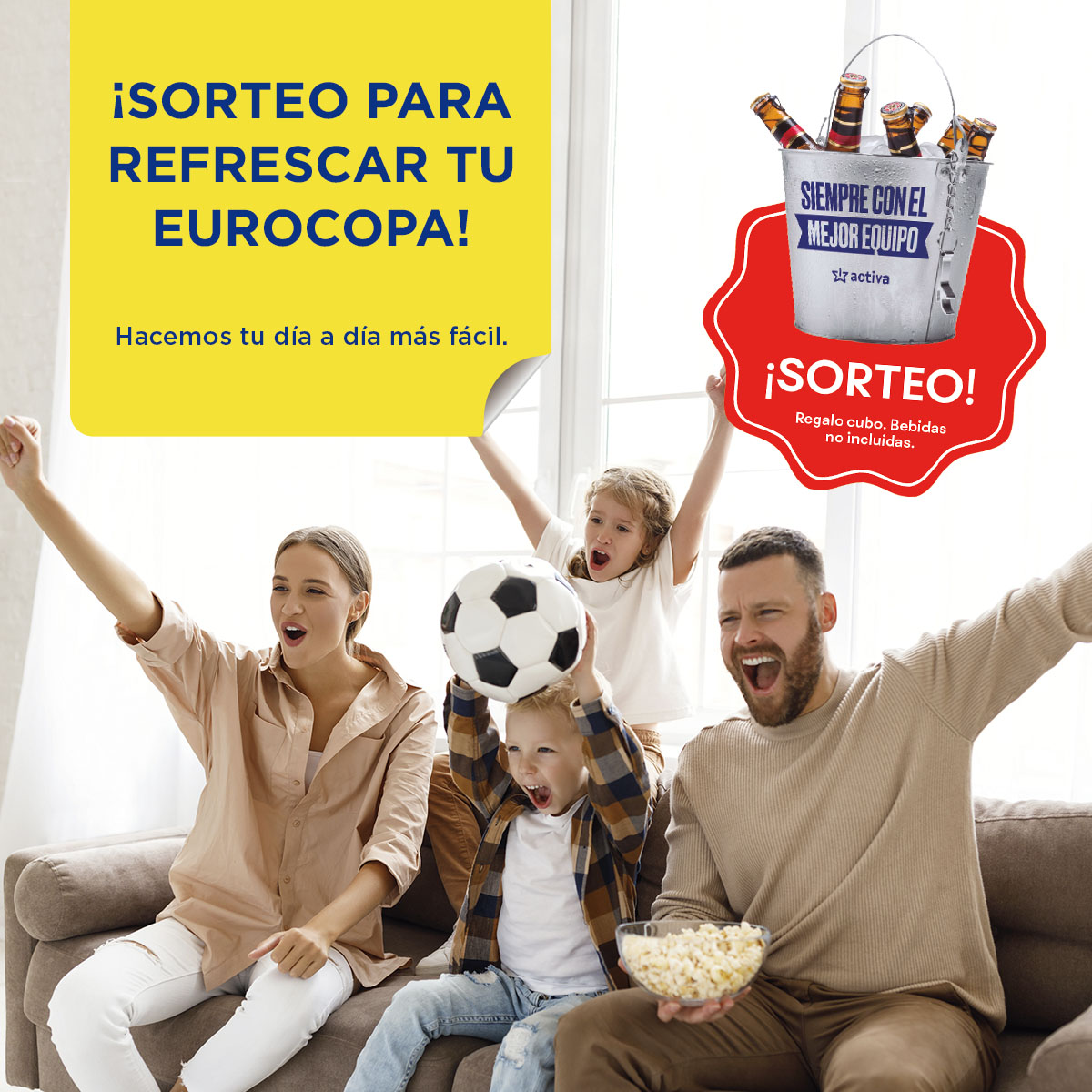 """BASES """"SORTEO EUROCOPA"""" TIENDAS ACTIVA. Junio 2021"""